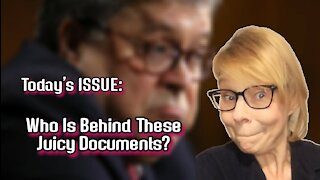 Today's ISSUE: Who Is Behind All These JUICY #Documents?
