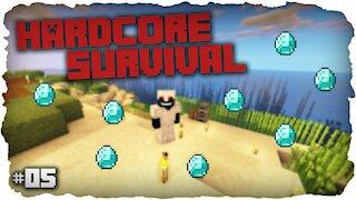 First Diamond Find ! | Hardcore Survival | Minecraft | #5
