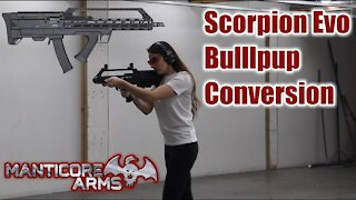 Scorpion Evo Bullpup Conversion from Manticore Arms