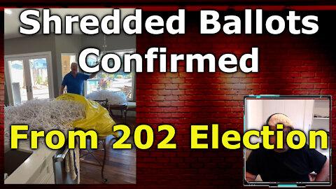 MORE FROM ARIZONA Maricopa County 2020 Election Shredded Ballots