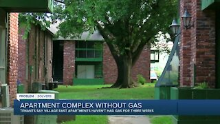 Residents frustrated after gas shut off at Muskogee apartment complex
