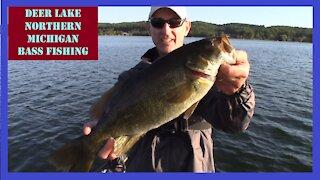 Deer Lake Northern Michigan Bass Fishing