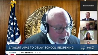 Latest on FEA lawsuit filed to delay start of in-person classes
