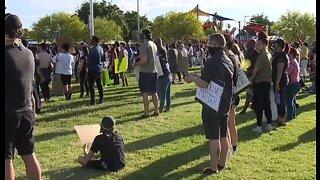 Las Vegas-area churches unite for prayer march against injustices