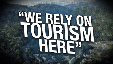 """B.C. provincial travel restrictions don't stop Sea to Sky """"Freedom Protestival"""""""
