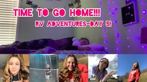 Time to GO HOME! RV Adventures-Day 5!! | Gabby's Gallery