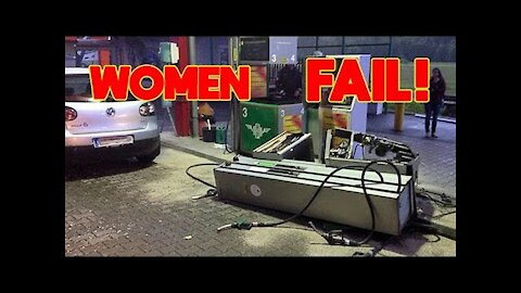 Failure in trafficking funny women - Woman 💋 without skills and funny failures - try not to laugh