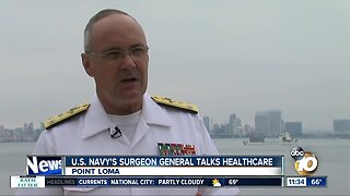 Navy Surgeon General discusses military health care