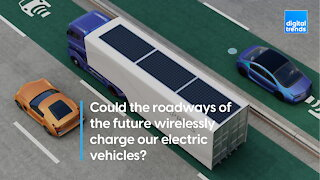 Could the roadways of the future wirelessly charge our electric vehicles?
