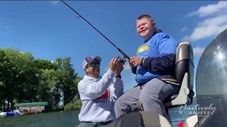 Teaching kids the love of fishing