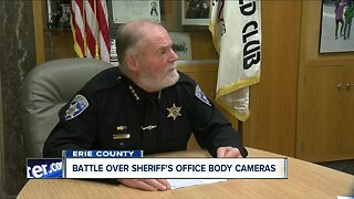 Battle over Erie County Sheriff's Office body cameras