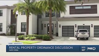 Cape Coral considering rental ordinance