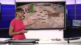 Your Monday evening forecast