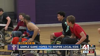 Simple game hopes to inspire local kids