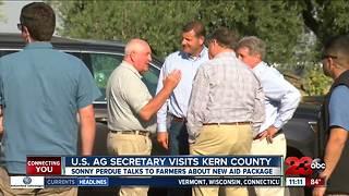 U.S. Ag Secretary visits Kern County