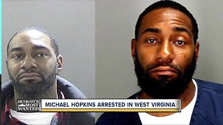 Detroit's Most Wanted Captured: Michael Hopkins arrested in West Virginia
