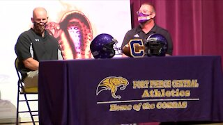 Fort Pierce Central introduces new football coach