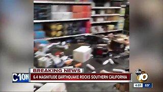Earthquake hits Southern California 4th of July
