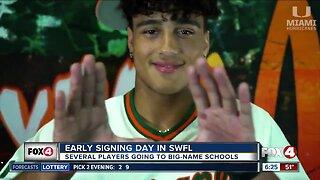 Early signing day for Southwest Florida athletes