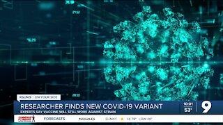 UArizona researcher finds new COVID-19 variant