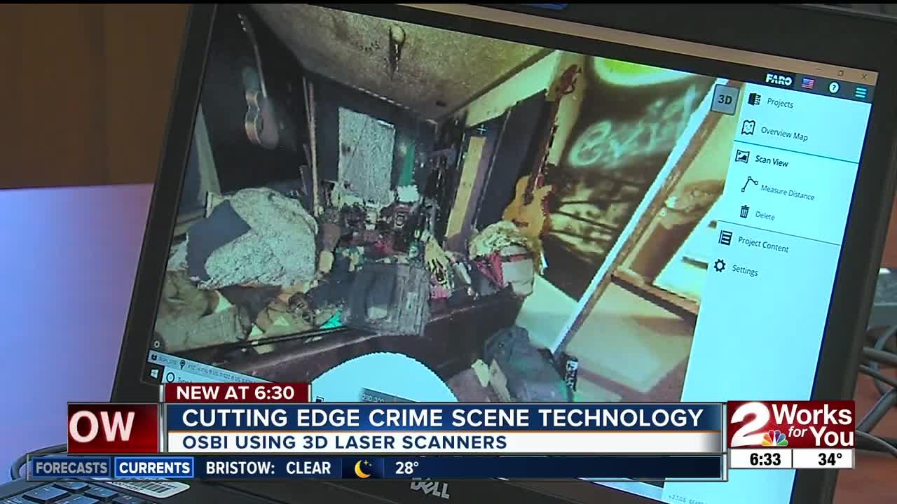Cutting edge crime scene technology