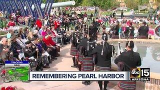 Ceremony honors fallen veterans, survivors of Pearl Harbor attack