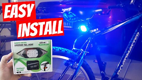 VASTFIRE STEERING TAIL LIGHT WITH REMOTE CONTROL - EASY INSTALL & REVIEW