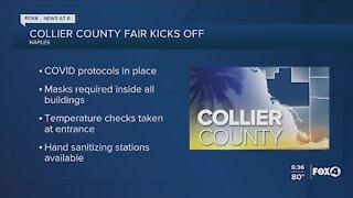 The Collier County Fair kicks off today