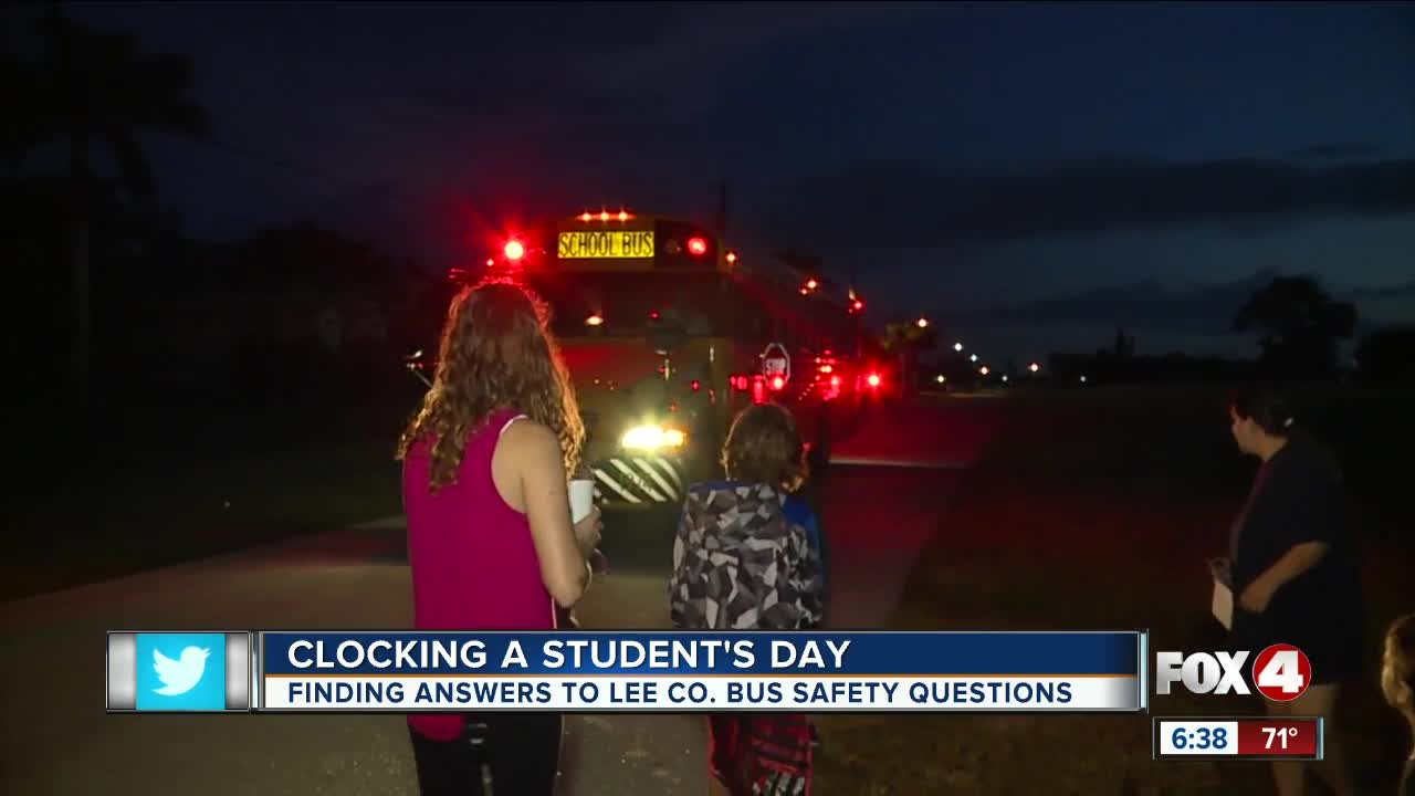 Finding answers to Lee County school bus safety questions