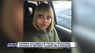 Woman fatally shoots driver who was allegedly trying to run her over