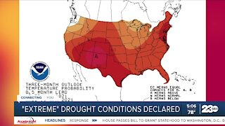 """""""Extreme"""" drought conditions declared"""
