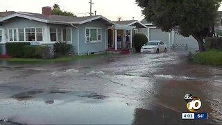 Water main break causes widespread damage