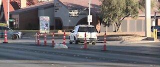 Woman hit, killed by vehicle near Charleston, Las Vegas Boulevard