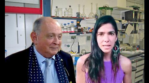Dra. Guillermina García Featherston con Chiche Gelblung Solicitud de debate científico público