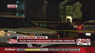 Tulsa police investigate fatal stabbing in midtown
