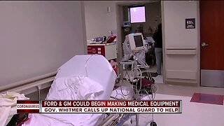 Ford, GM in talks with White House to begin making medical equipment