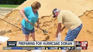 Tampa Bay area residents preparing for Hurricane Dorian