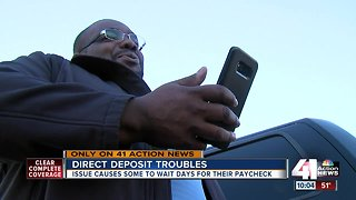 Some AMEX customers not getting direct deposits