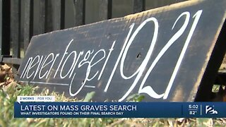 Latest on mass graves search