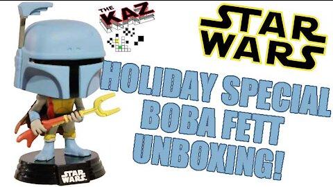 Boba Fett Star Wars Holiday Special Funko Pop Unboxing