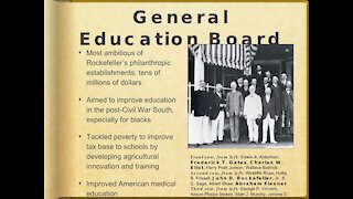 Education Pt. 2: Carnegie /Rockefeller Public School System