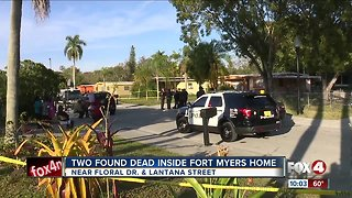 Two people found dead in Fort Myers home Thursday