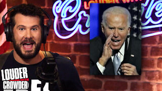 Biden Is Way More Divisive Than Trump: Here's How… | Louder with Crowder