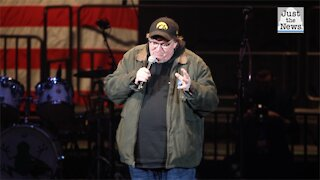 Conservative filmmaker Dinesh D'Souza backs Michael Moore