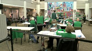 Officials still counting ballots amid record voter turnout