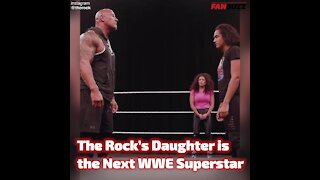 The Rock's Daughter is the Next WWE Superstar