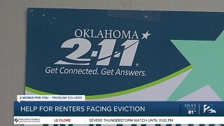 Help for renters facing eviction