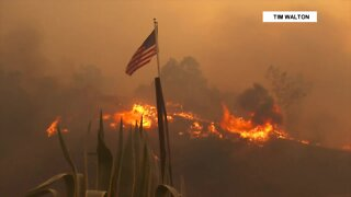 California governor: Hundreds of wildfires blazing statewide