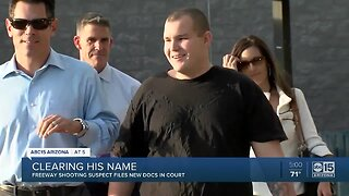 Phoenix freeway shooter working to clear his name