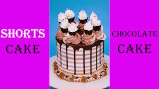 Yummy Chocolate Cake Decorating